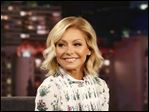 Kelly Ripa on Jimmy Kimmel Live on  February 25, 2016.