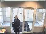 The suspect in a bank robbery at State Bank and Trust in Perrysburg.