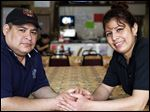 Lorenzo Morales and his wife Emilia Silguero, owners of Taqueria La Autentica Michoacana restaurant, have run into problems getting a loan to expand their business.
