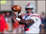 The Buffalo Bills selected Ohio State quarterback Cardale Jones in the fourth round of today's NFL draft.