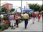 The Perrysburg Farmers Market will be in its 18th season when the market opens on Louisiana Avenue from 3 to 8 p.m. on Thursday. The event will be weekly through Oct. 13.