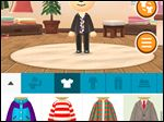 Screen shot from the app called Miitomo, launching in Japan  featuring its customizable characters called Miis. The avatars can be created with the app using a smartphone camera and then outfitted with virtual fashions and quizzed by other Miis.