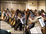 A Large Harp Ensemble Experience performance is scheduled for May 15 at Sauder Heritage Inn in Archbold. The event is part of a weekend designed for harpists.