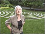 Vicky Baily, who owns a home in the Maryland outside of Washington, installed a labyrinth in her yard for herself and neighbors to enjoy.