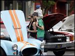 The Sylvania Area Chamber of Commerce will host the annual Sylvania Car Show, here pictured last year, May 22 on Main Street in Downtown Sylvania.
