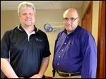 Toby Miller and Marty Rini of Innerapps in Perrysburg said venture capital helped it grow its premier product, IDSync.