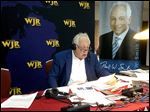 Paul W. Smith hosts his radio show last year at Monroe County Community College.