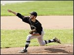 Perrysburg senior Trevor Hafner got the win against Whitmer on Thursday, giving up four hits while striking out two. He had a no-hitter through four innings.