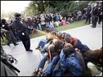 In 2011, University of California, Davis Police Lt. John Pike used pepper spray to move Occupy UC Davis protesters. UC Davis came under fire after hiring a consultant for $175,000 to try to clean up its image after the November, 2011, incident. Various firms offer such services, but permanent removal is near impossible, and attempts can backfire.