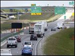 The Ohio Department of Transportation is warning motorists that congestion is expected with Perrysburg ramp closings.