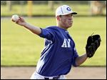 Anthony Wayne's Alex Vogel is 7-1 (1.01 ERA) on the mound and is batting .376.