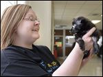 Julie Lyle, director of Lucas County Canine Care & Control, earned praise for turning the shelter's image around.