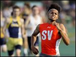 Southview's Frank Hayes wins the 800-meter run at the Division I regional track and field meet Friday in Amherst, Ohio.