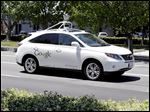 Self-driving cars, like this one from Google, are expected to be on the road in five to 10 years, and researchers think people will use them way too much.