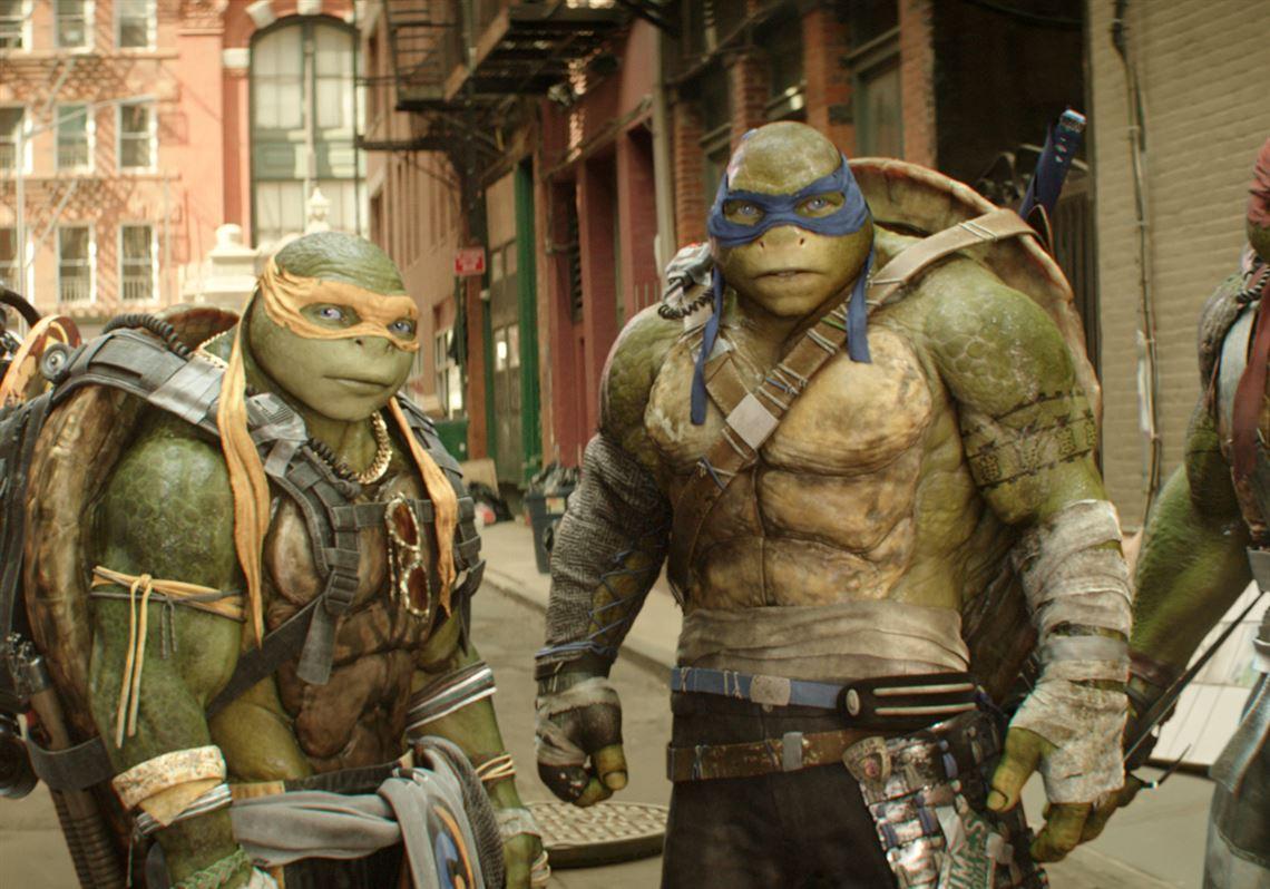 Brainless goo: Ninja Turtles movie ...
