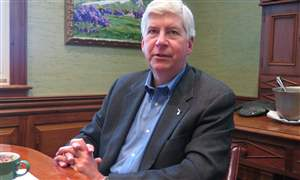 Governor-Interview-Mackinac