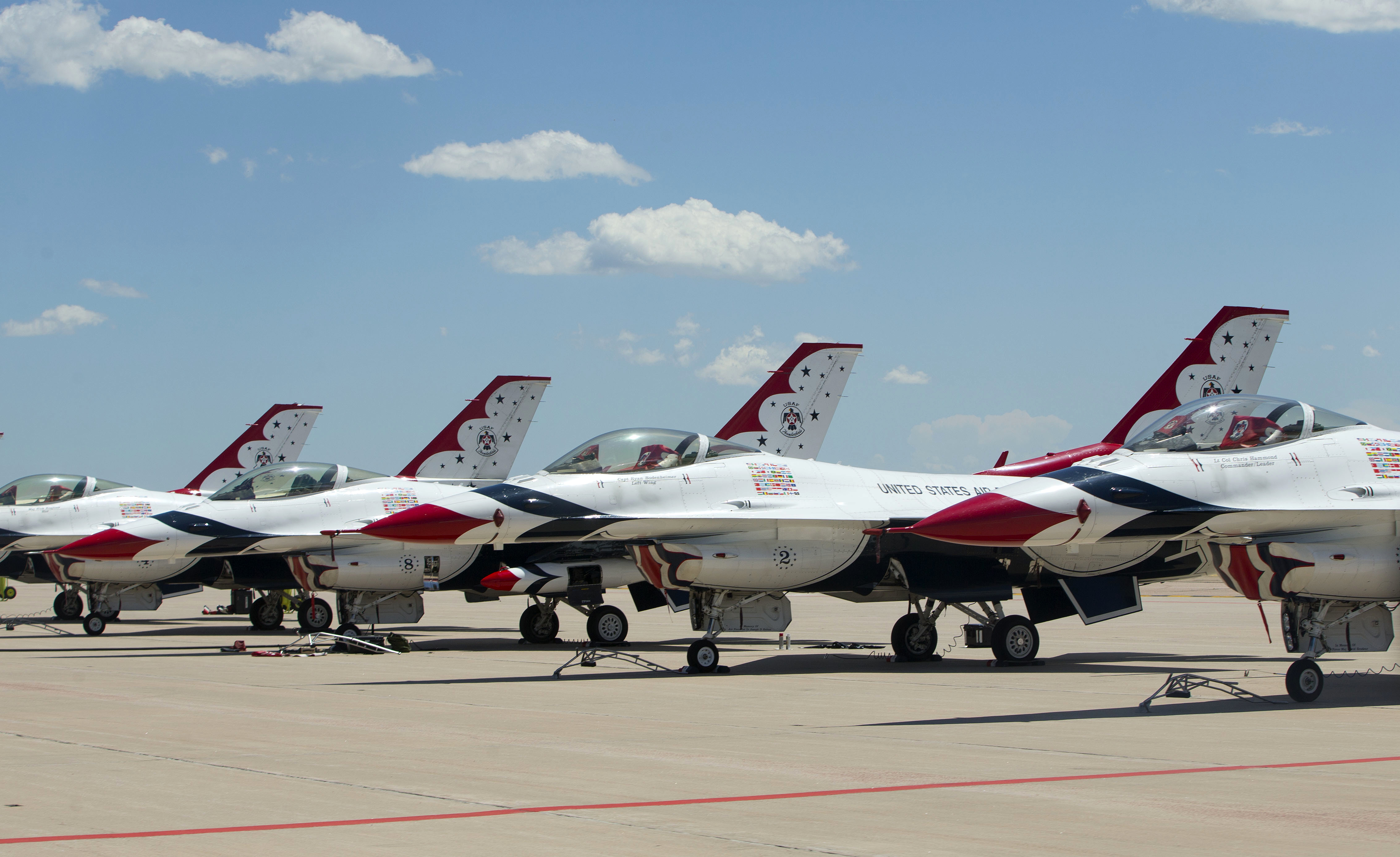 Air Force Thunderbirds Shows Will Go On The Blade