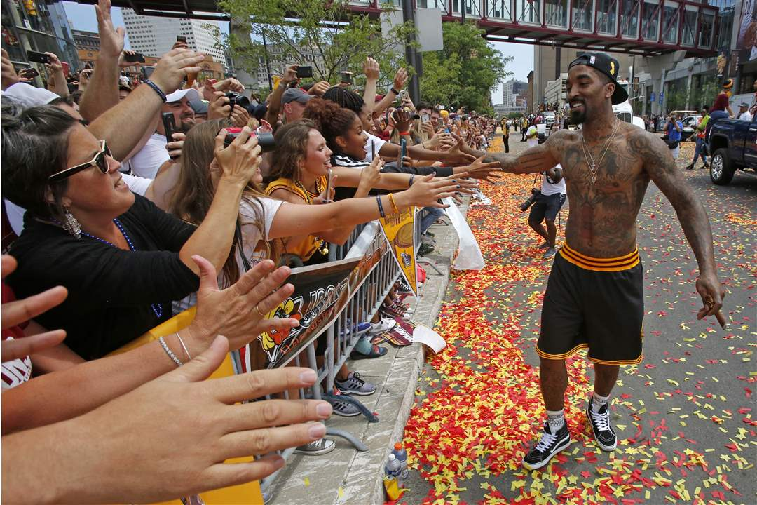 IN PICTURES: Cleveland Cavaliers victory parade - The Blade