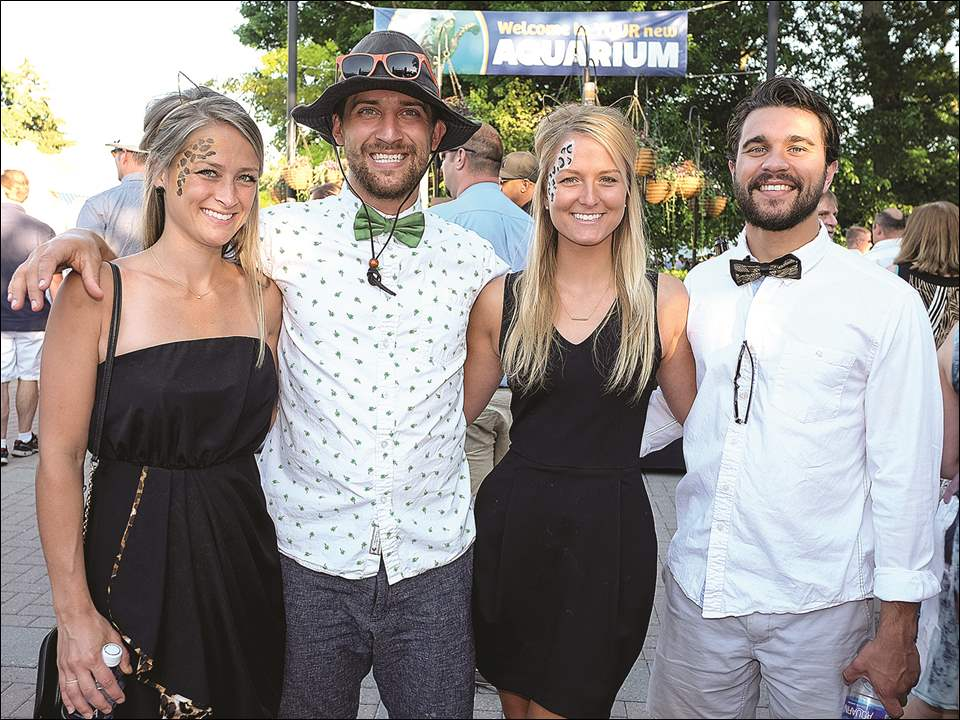 Left to right, Miranda Gradkowski, Matt Hohler, Jennifer Lucius, and Jake Corbett during ZOOtoDO.