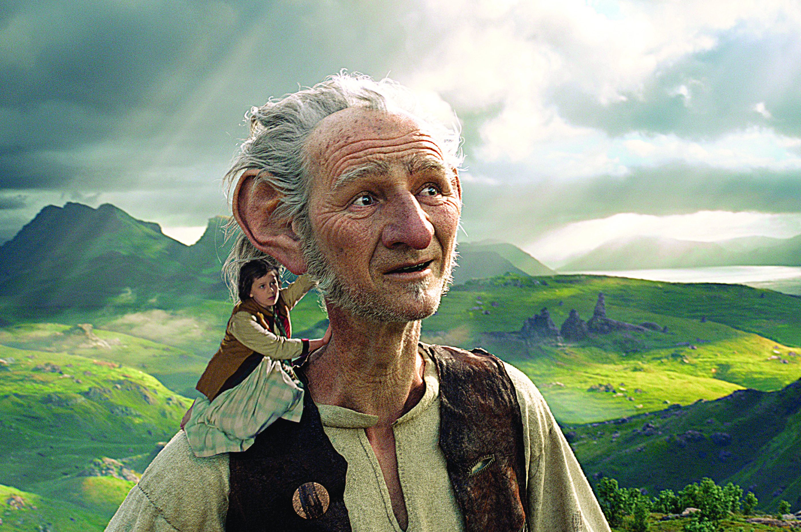 Friendly Adaptation Rylance Is Magical As Dahl S Bfg