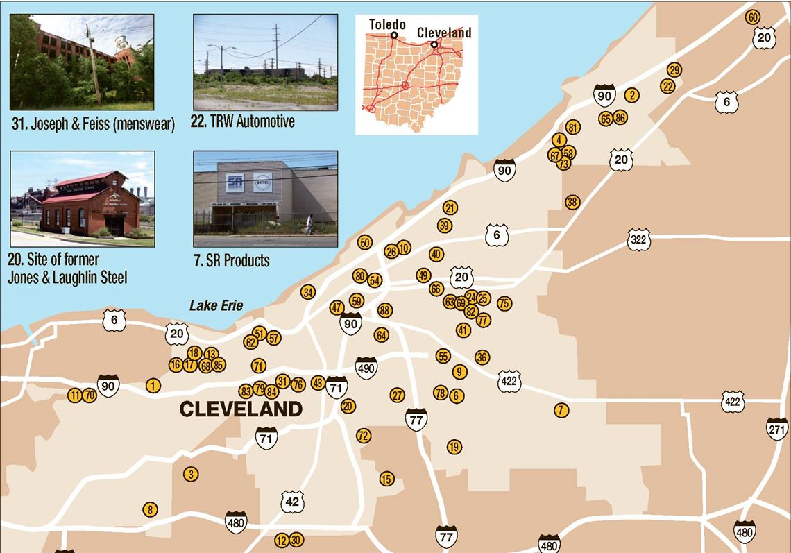 Cleveland Hard Hit By Factory Closings