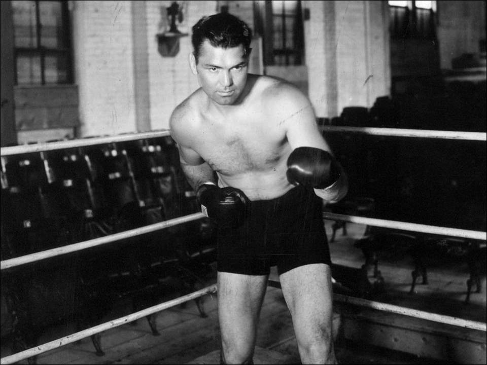 Jack Dempsey shortly before his Toledo title fight.