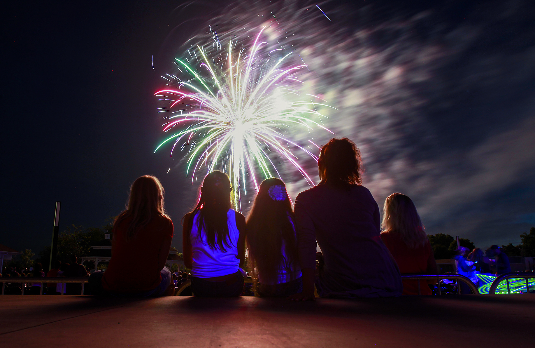 Still more fireworks on tap - The Blade