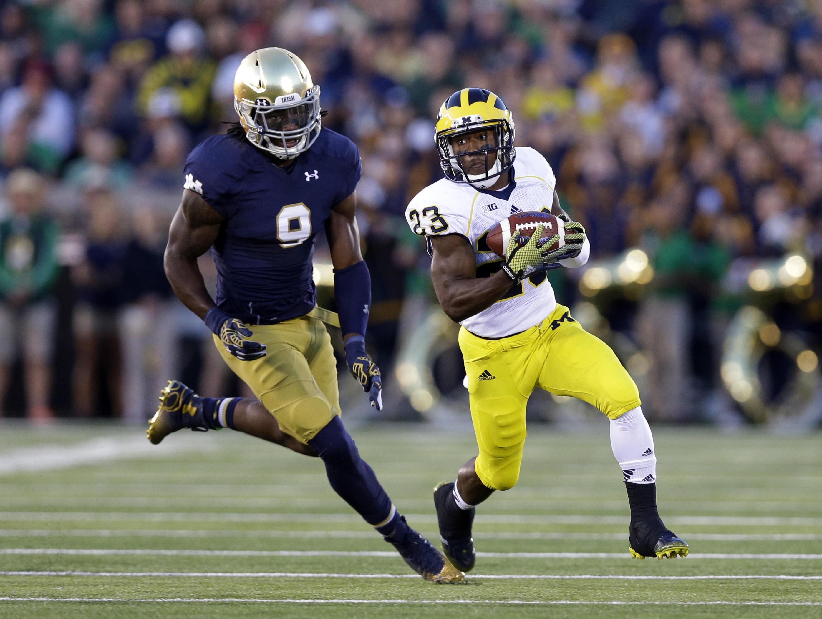 How a Toledo executive helped save the Notre Dame-Michigan ...