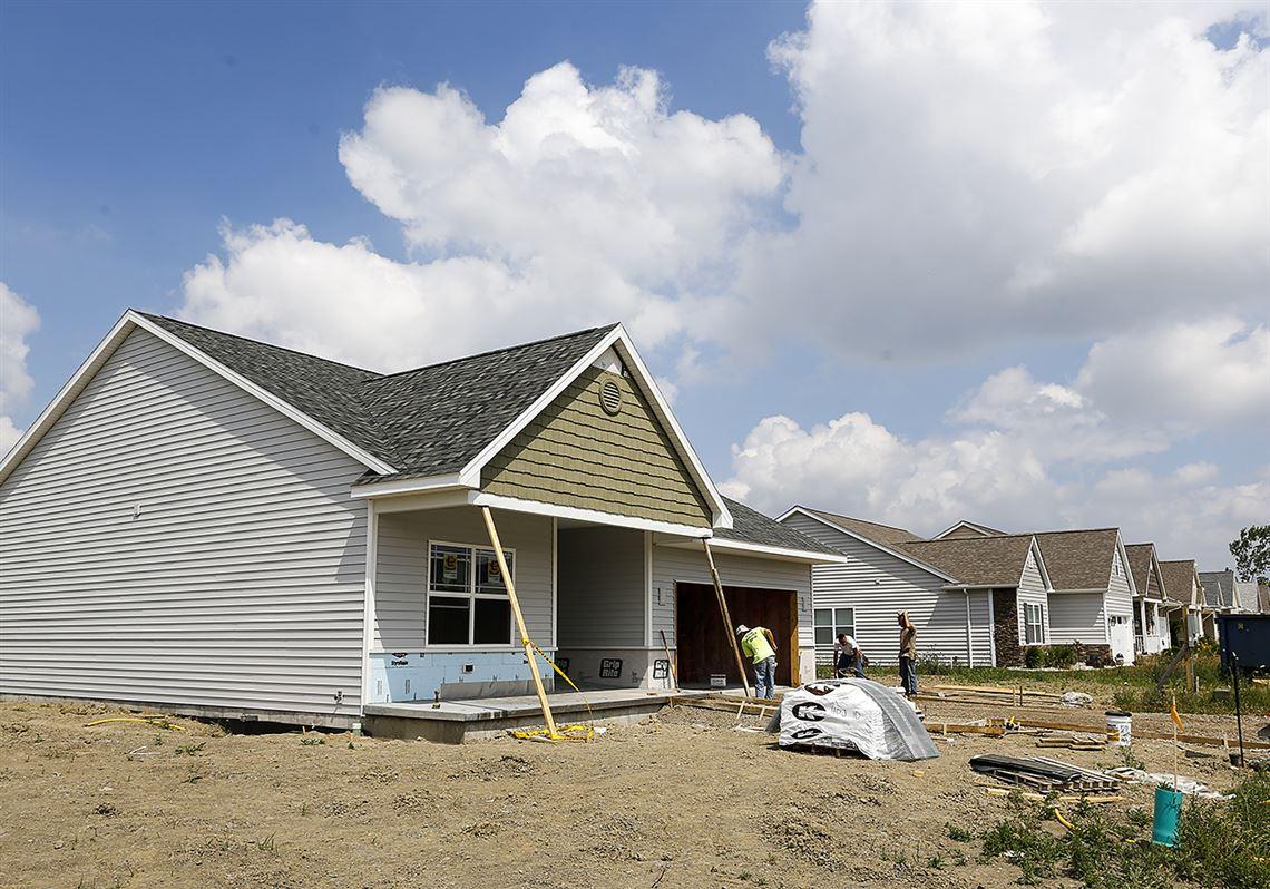 Under Construction Lakeside Villas At Fallen Timbers Toledo Blade