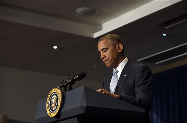 Obama Addresses Police Shootings On Spain Trip