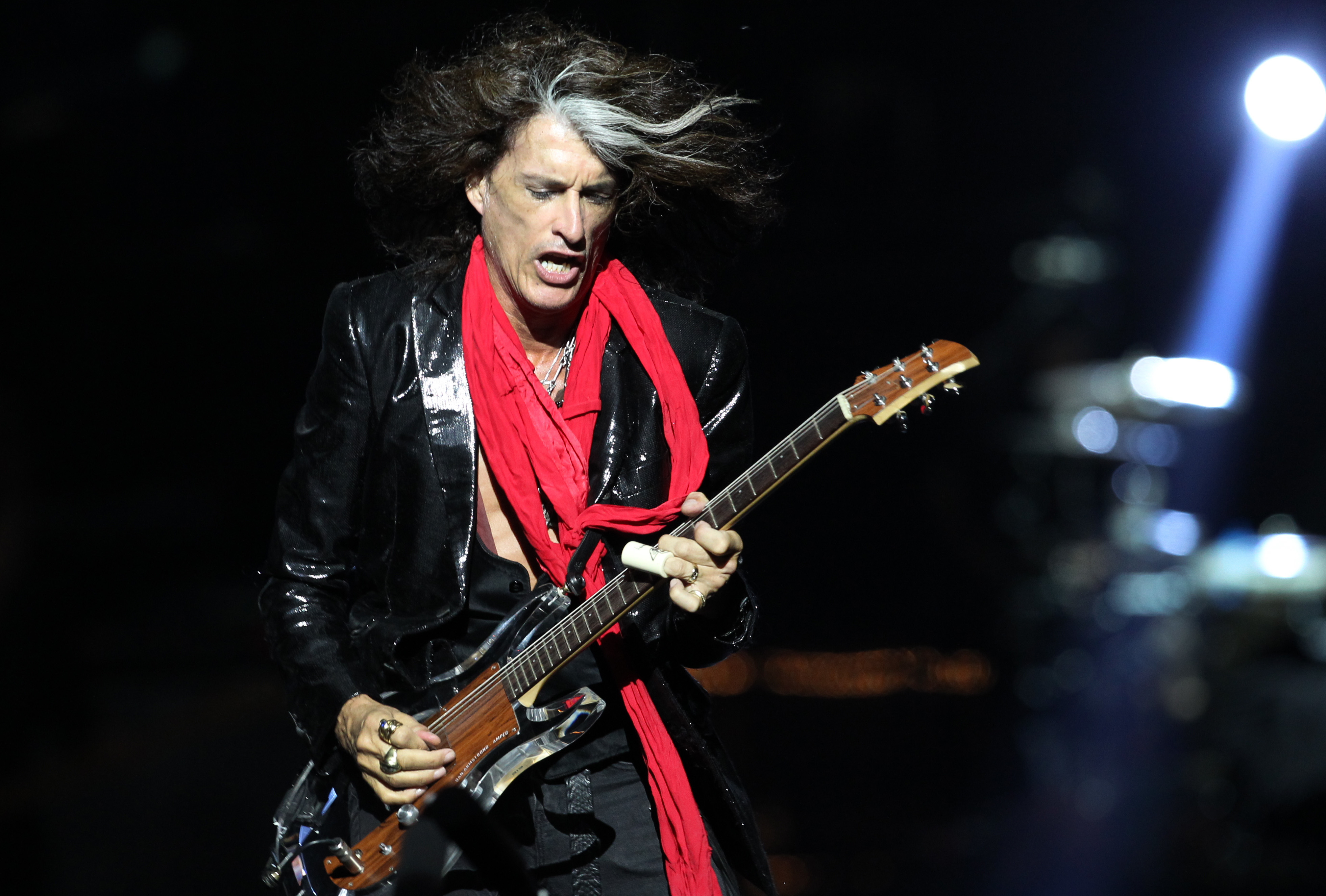 Joe Cooper Ford >> Aerosmith guitarist 'doing well' after leaving performance - The Blade