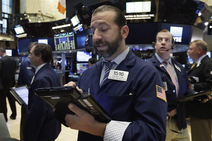 Markets Right Now: US stocks close higher on Wall Street