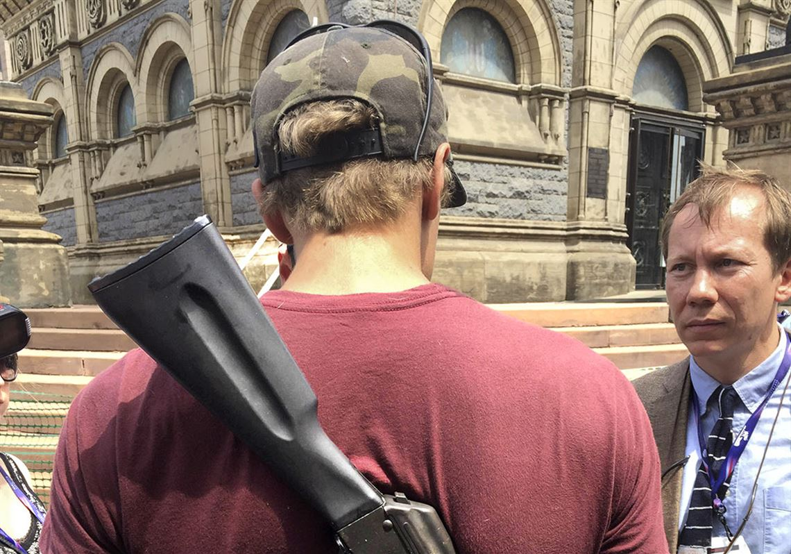 Open-carry AK-47 in Cleveland plaza | Toledo Blade