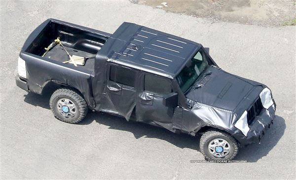 Production of Jeep truck to start in 2019 - The Blade