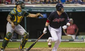 Athletics-Indians-Baseball-59