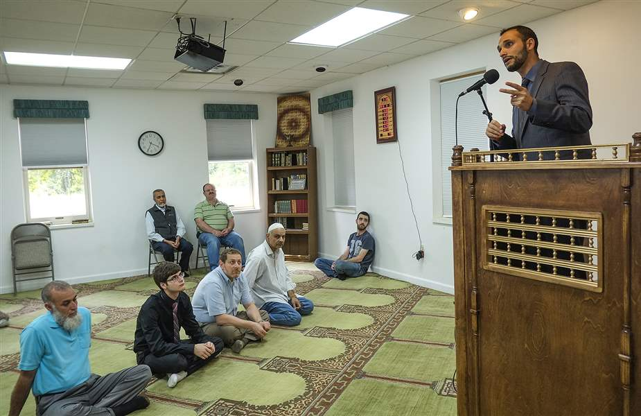 local muslims cope with tensions  scorn