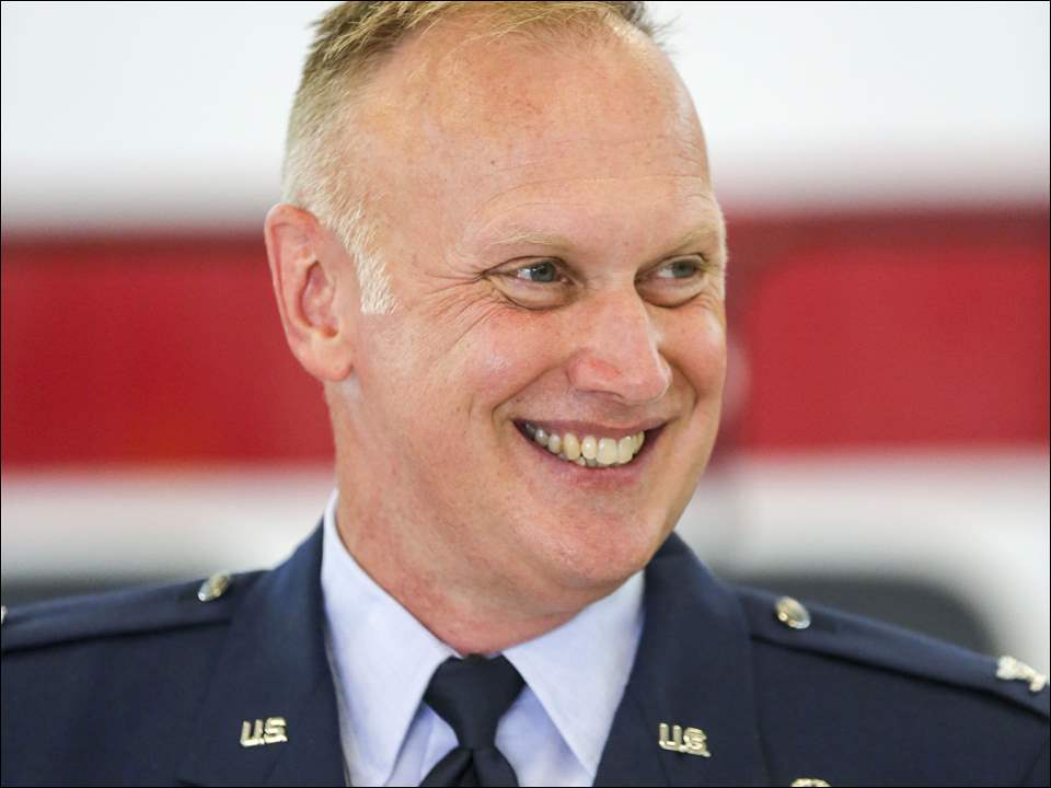 "Col. Kevin ""Buzz"" Doyle takes over the 180th Fighter wing of the Ohio Air National Guard."