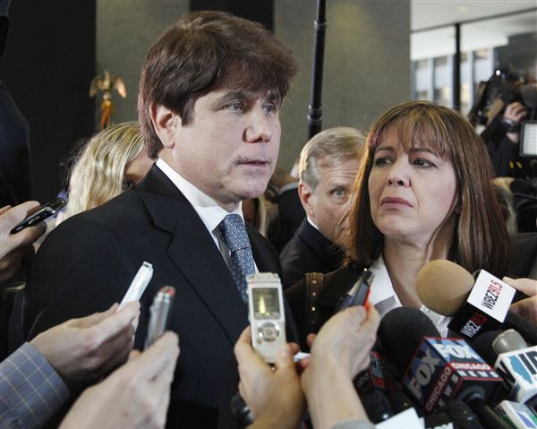 Disgraced Illinois Gov. Rod Blagojevich Appears in Court