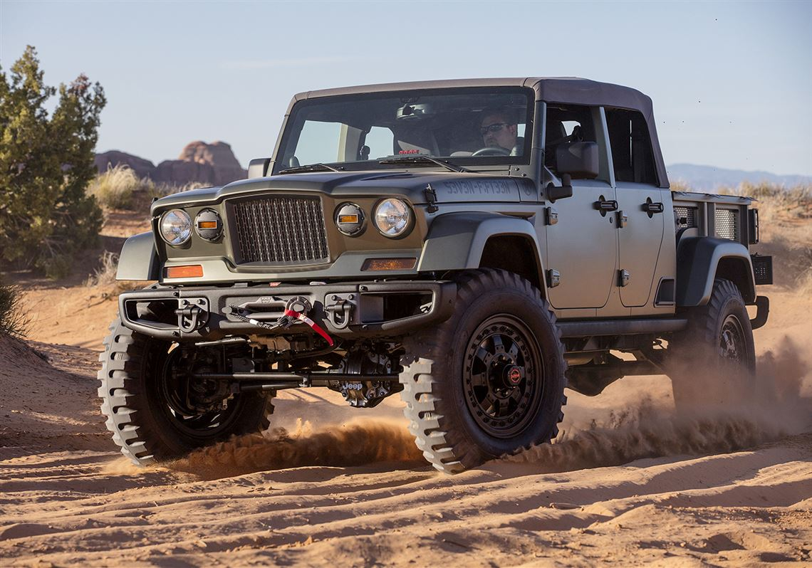The Jeep Crew Chief 715 Concept Built Earlier This Year For 2016 Easter