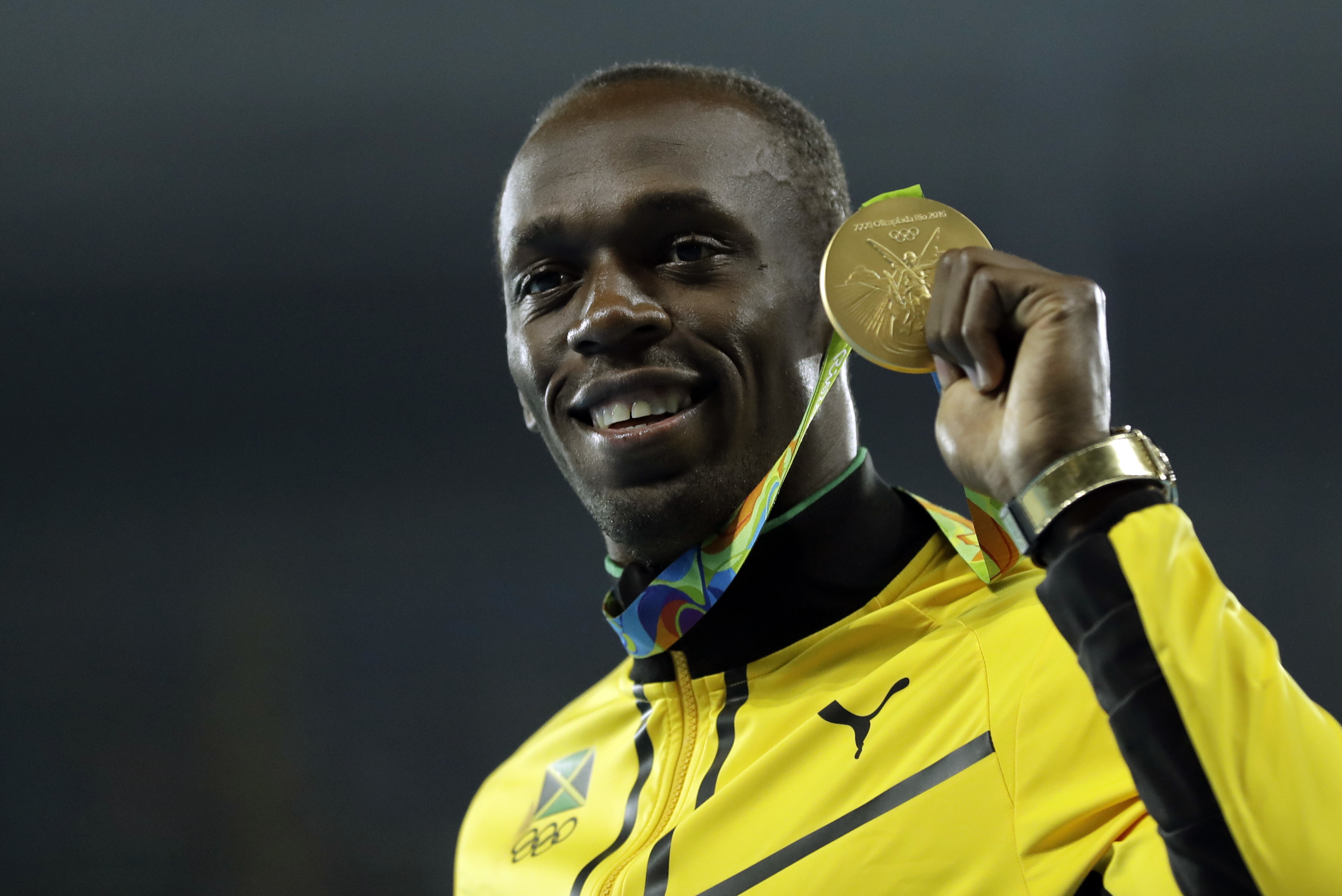 Bolt wins 9th gold as Jamaica wins 4x100 relay - The Blade
