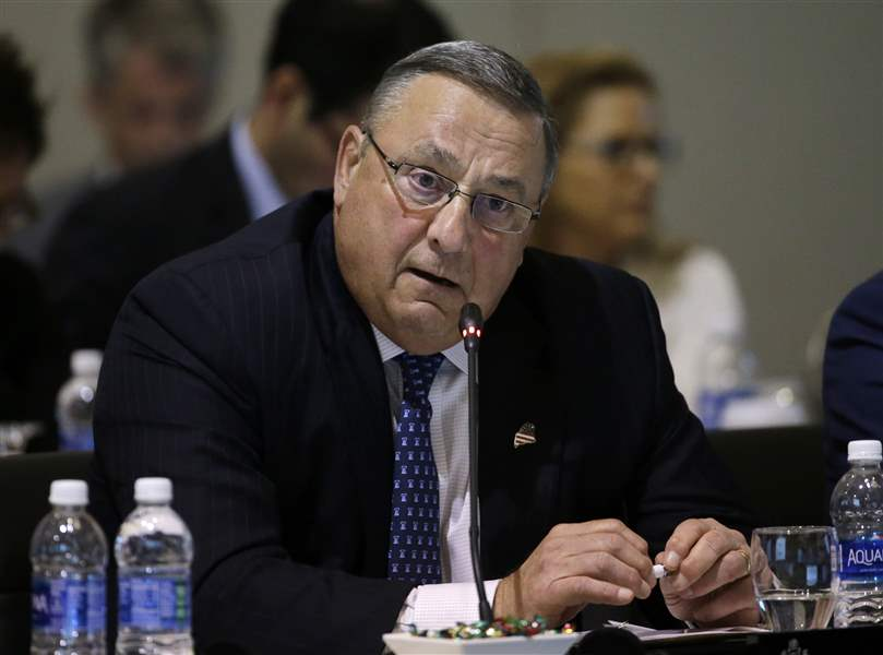 Maine governor: I don't have 'mental issues'