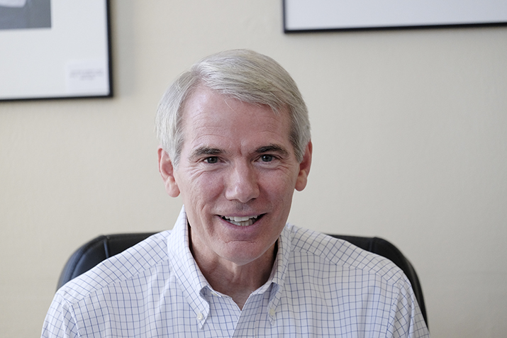 Portman aims to halt illegal drugs in mail - The Blade