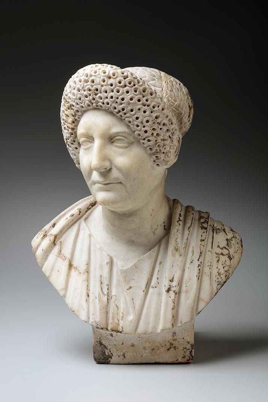 Roman Gladiator & Goddess Stone Sculpture - Large Garden