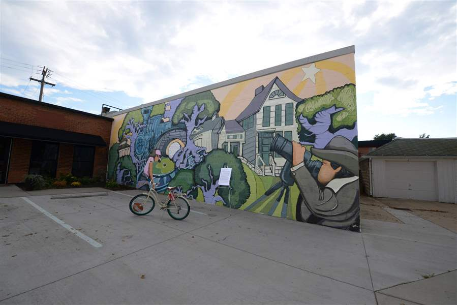 Sylvania bringing mural to Main Street - The Blade