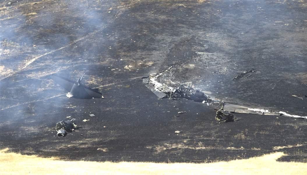 Pilot dies following military plane crash north of Sacramento
