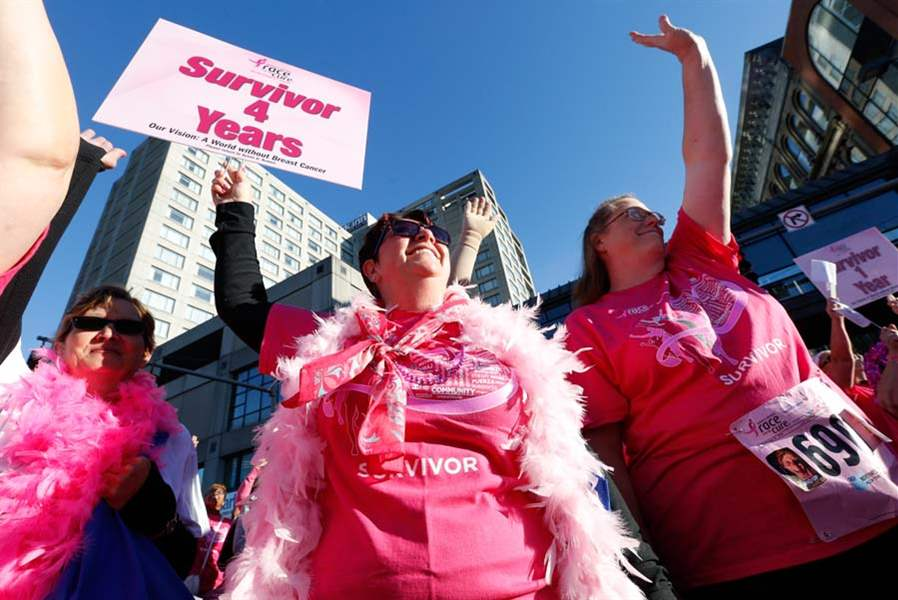 26th annual Susan G. Komen Race for the Cure attracts thousands