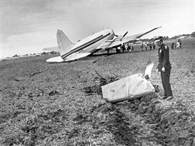 VLT plane crash