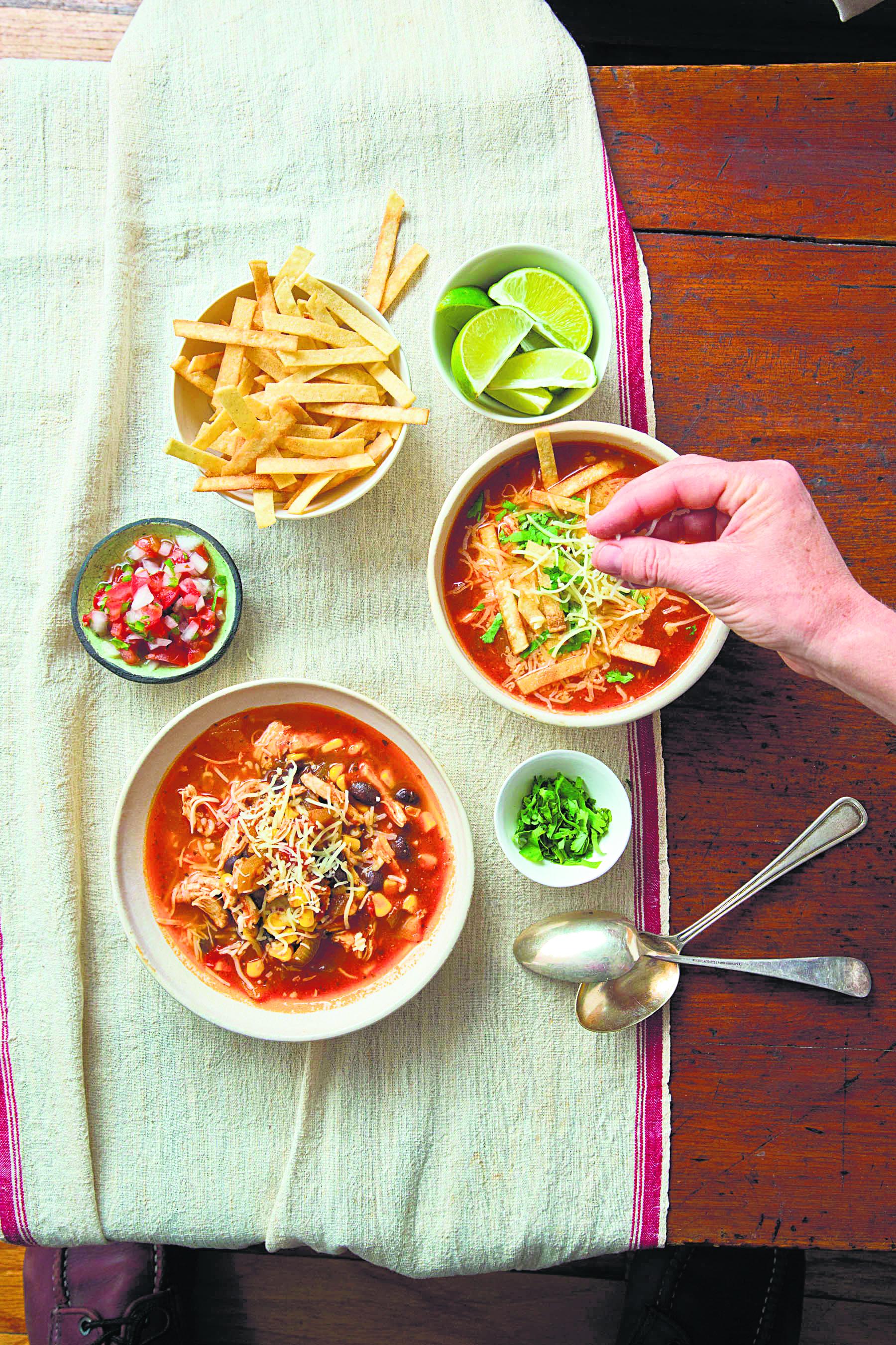 Whole Food Tortilla Soup Recipe