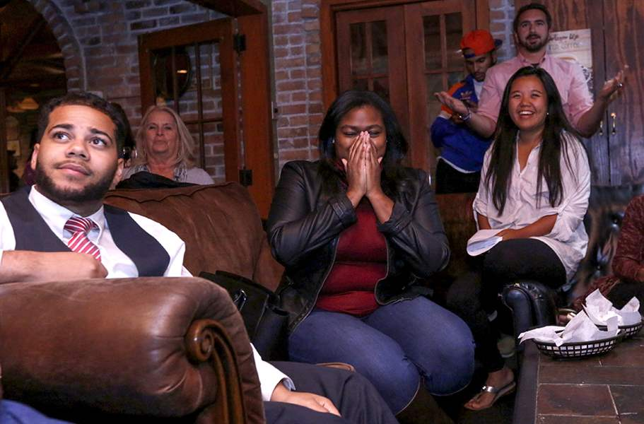Democrats and Republicans host separate debate watch parties in Montgomery County