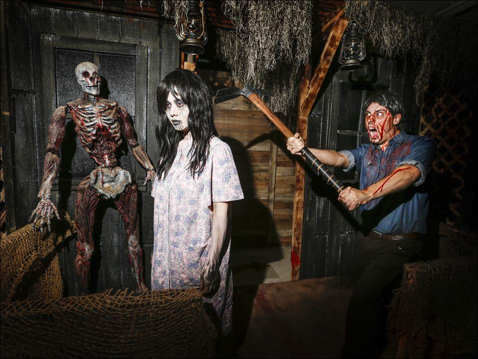 Zombies await at the Haunted Planet Experience.